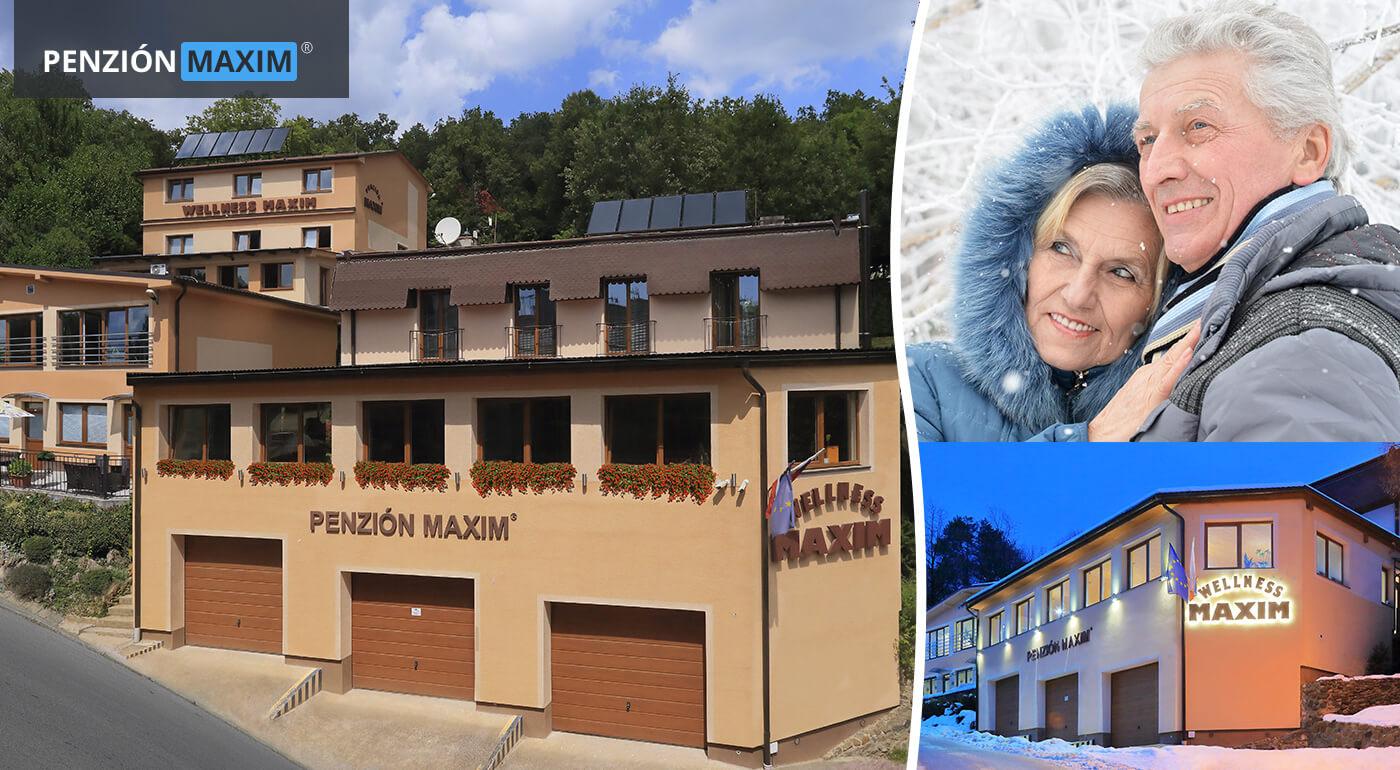 Bojnice: Senior pobyt v Penzióne Maxim*** s polpenziou a wellness - jarný, letný a zimný pobyt