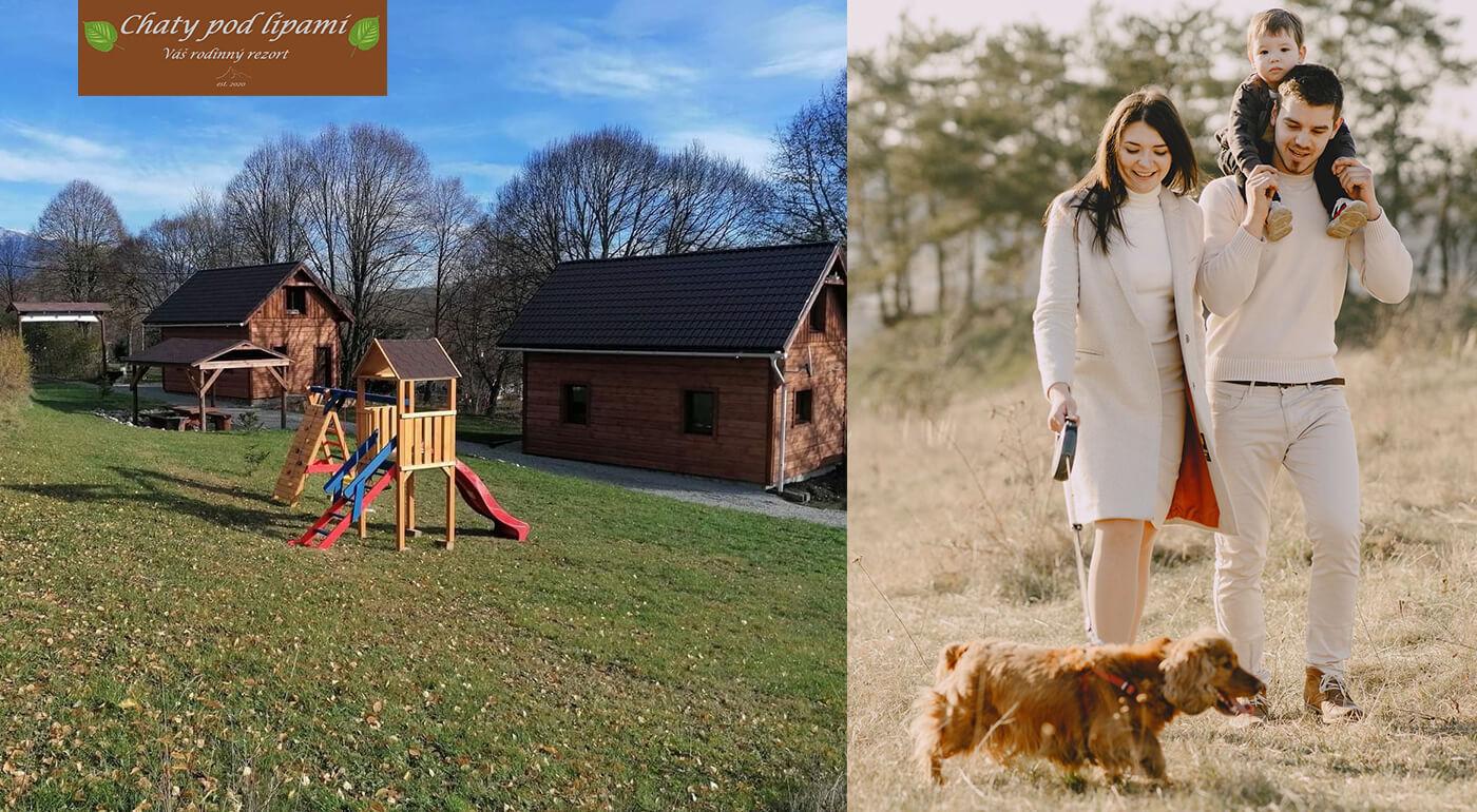 Veľkonočný pobyt v útulných dreveničkách v Liptovskom Trnovci pre vás a vašich blízkych.