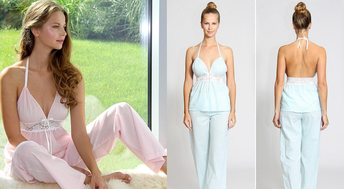 Luxusné dámske pyžamo z organickej bavlny, ktoré vám zaručí absolútne pohodlie