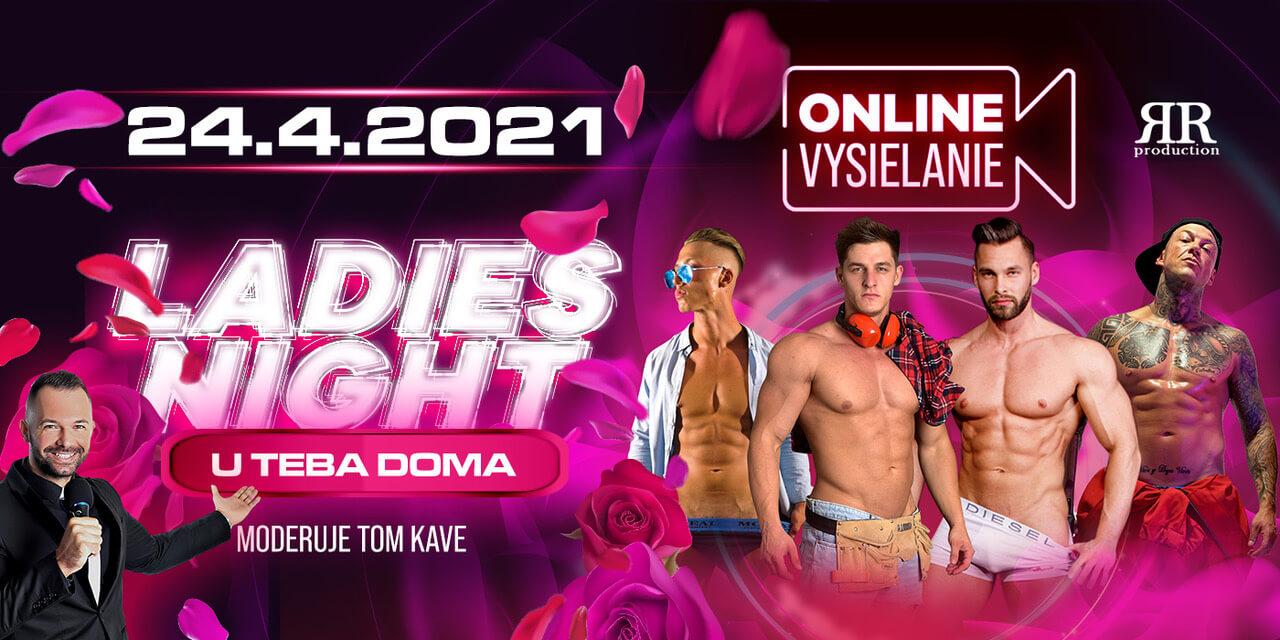 LADIES NIGHT 2021 U TEBA DOMA – energické online vystúpenia striptérskej skupiny MEN4QUEEN, SIMPLE BOYS a Dirtyy Boyzz