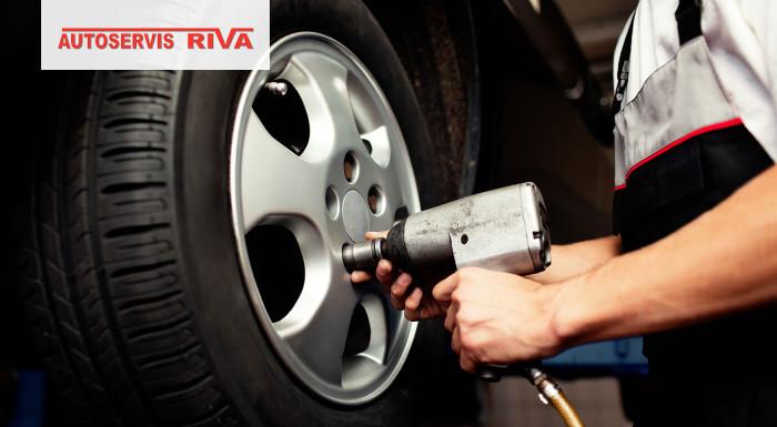 Pripustíte k svojmu auto iba profesionálov? Zariaďte si prezutie pneumatík v obľúbenom Autoservise Riva Plus v bratislavskom Lamači. Pripravte svoje autíčko na teplé dni!
