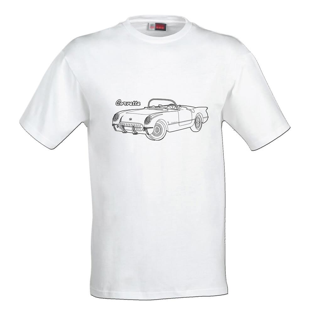 Detské tričko Omaľovánka - Kabriolet, veľkosť 110 (4 roky)