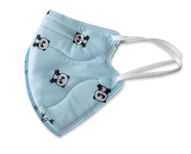 Detský respirátor FFP2 - Panda - 1 kus