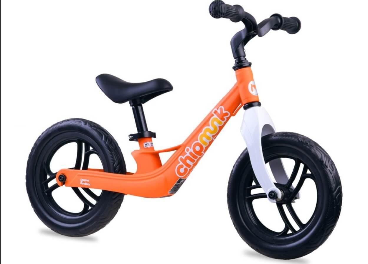 Detské odrážadlo RoyalBaby - oranžové (bez brzdy)