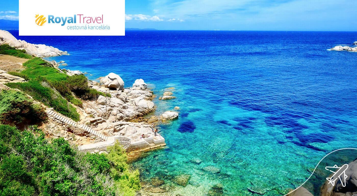 4-dňový letecký zájazd Sardínia a Korzika pre 1 osobu