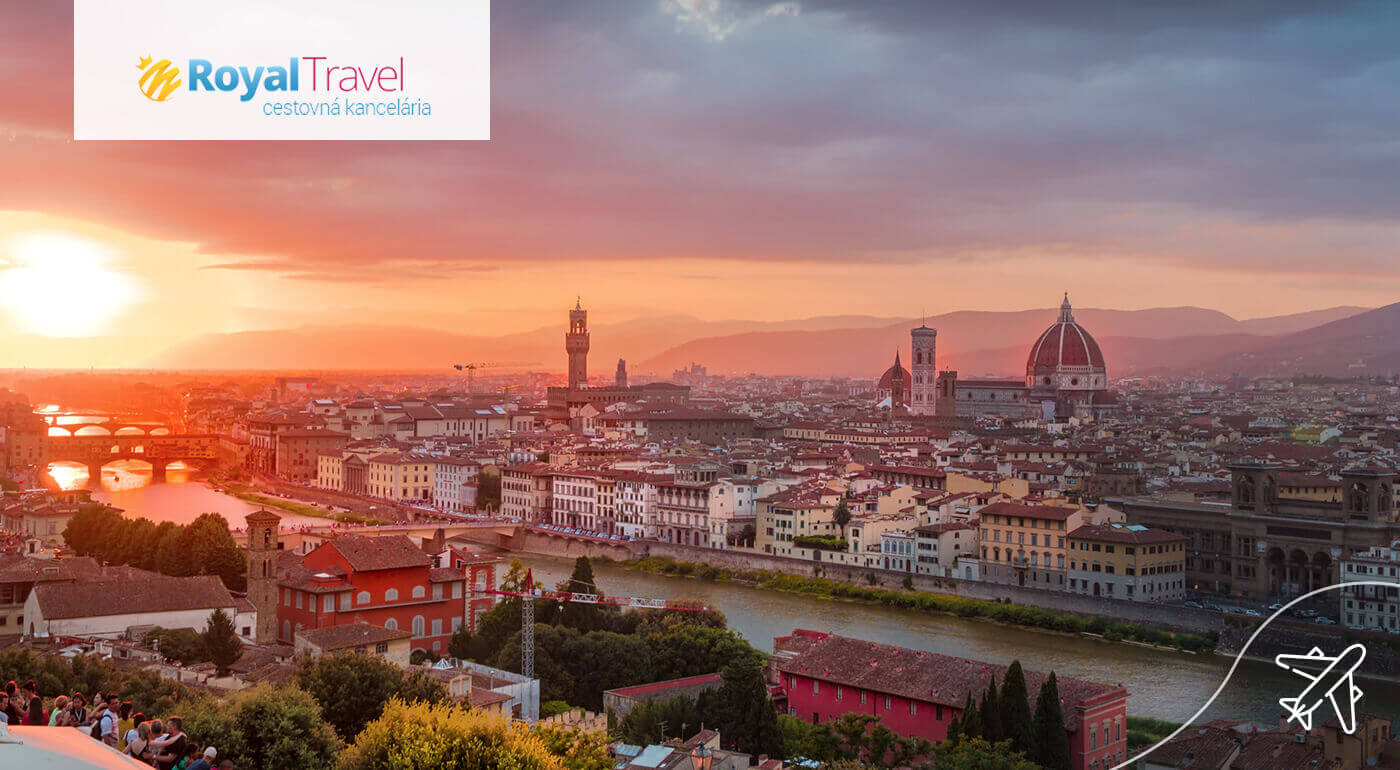 Čarovné Toskánsko: 4 dni v romantickom talianskom regióne letecky z Viedne