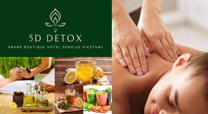 Chcete sa rozmaznávať,naštartovať imunitu a zbaviť sa stresu? AKTIV DETOX pobyt v Grand Boutique Hoteli Sergijo**** je program zameraný na 5D detox, relax,wellness, oddych a harmonizáciu tela a mysle.