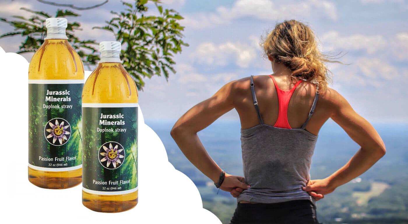 Jurassic minerals - 1 fľaša (946 ml)