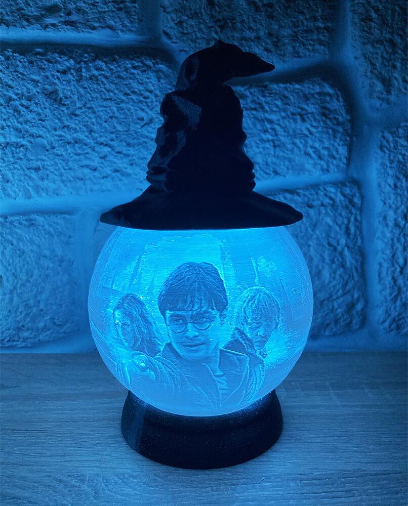Rozprávková 3D lampa - Harry Potter