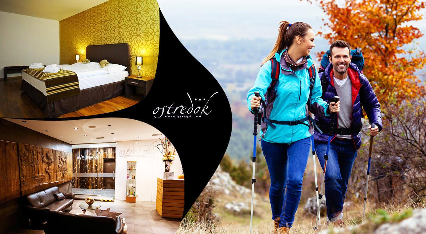 Nízke Tatry: Jesenná dovolenka v Jasnej v Hoteli Ostredok*** pre dvoch s polpenziou i wellness rozmaznávaním