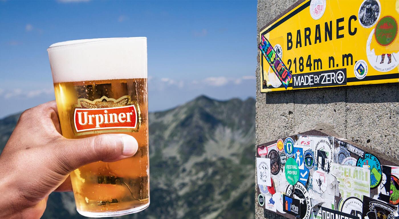 Pivo na Baranci - pripite si s nami a zároveň prispejte na dobrú vec v našich Tatrách