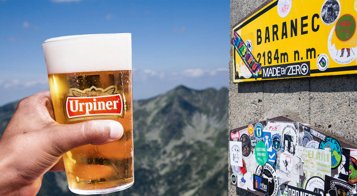 Najvyššie čapované slovenské pivo - pripite si s nami tentoraz na Baranci. Prispejte aj vy na opravu turistických chodníkov v Tatrách.
