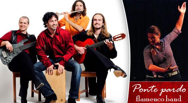 Horúce tóny flamenca - skvelý sobotňajší koncert flamenco kapely Ponte Pardo