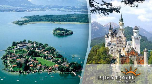 2 dňový zájazd do Nemecka s návštevou najkrajších Bavorských zámkov.