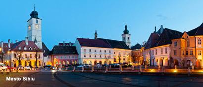 Sibiu Rumunsko