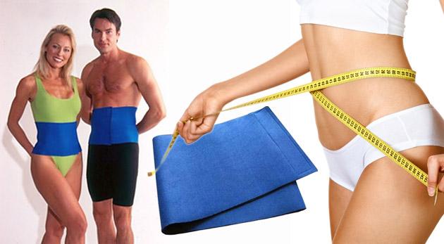 Neoprénový pás na cvičenie a chudnutie