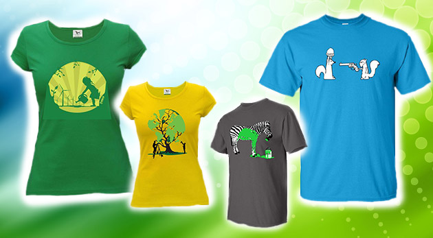 30d09fbdf1aa Kvalitné dámske a pánske tričká s trendy potlačou. Pestrý výber módnych a  originálnych tričiek.