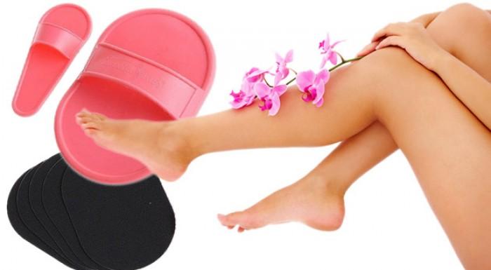 Rýchle a jednoduché odstránenie chĺpkov so sadou Smooth Legs. Hladká pokožka bez chĺpkov vydrží až 3 týždne.