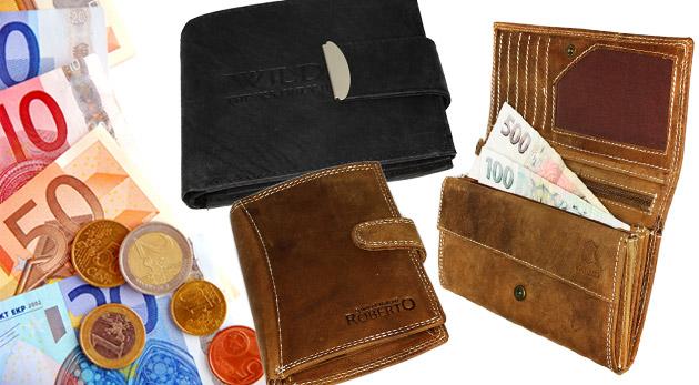 6ac20891e1 Kvalitná pánska alebo dámska peňaženka vyrobená z pravej kože ...
