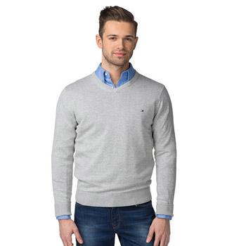 Kvalitný trendový pánsky sveter svetovej značky - Tommy Hilfiger ... 0670c1ce083