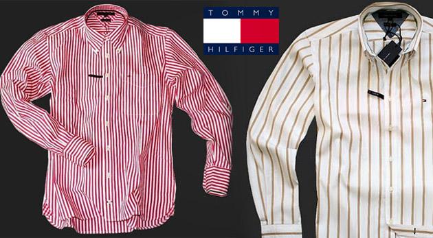 Kvalitná štýlová košeľa pre pánov svetovej značky - Tommy Hilfiger ... 9e36b257bea