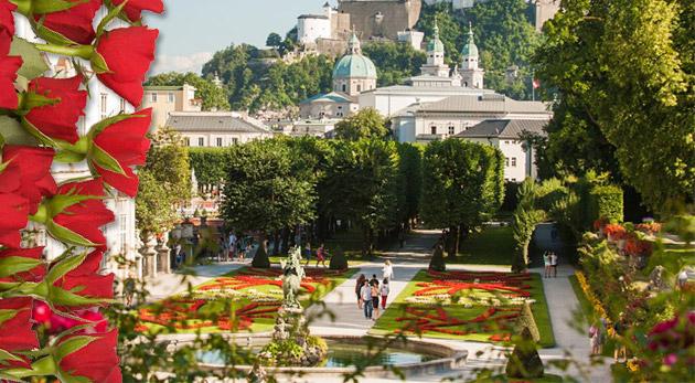 Zájazd pre 1 osobu na impozantný festival Dni ruží v rakúskom meste Baden.
