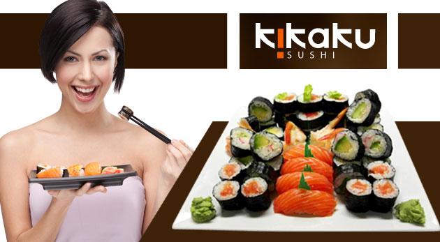 Japonská delikatesa - SUSHI set pre 1 až 4 osoby. Možnosť TAKE AWAY.