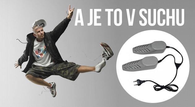 Elektronický sušič topánok. Suší i dezinfikuje vašu obuv.