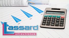 Fotka zľavy: Ročné vedenie účtovníctva so zľavou až 31%. Predstavujeme spoločnosť Lassard, partnera s dlhoročnými skúsenosťami a individuálnym prístupom.