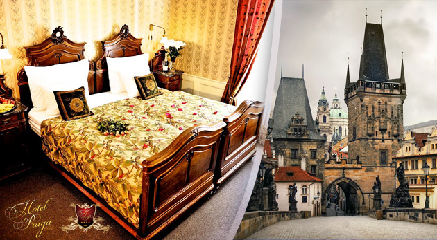 Božská Praha na dosah! Úžasný pobyt pre dvoch s raňajkami v historickom Hoteli PRAGA 1885**** v centre metropoly.