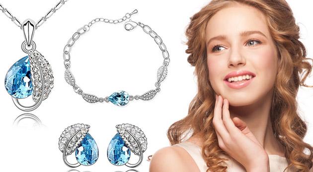 Elegantný set šperkov s kryštálmi Swarovski Elements. Ligotavé potešenie, ktoré zapáli iskru v očiach každej ženy.