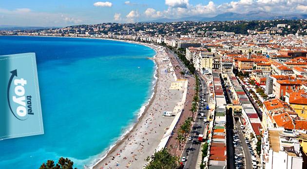 Perly francúzskej riviéry - Monako a Nice a kúpanie v azúrovom mori. 4 dňový zájazd v termíne 16.8. - 19. 8.2013.