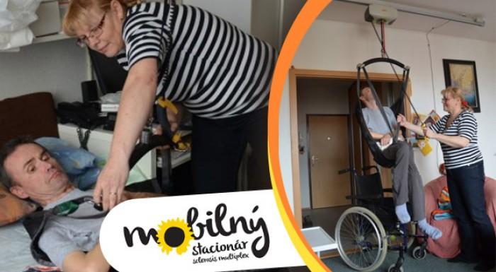 Pomôžte spolu s nami - dobrovoľný príspevok na mobilný stacionár pre pacientov so sklerózou multiplex.