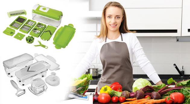 Univerzálny kuchynský krájač pre efektívnu a ľahkú prácu v kuchyni! Na výber z dvoch druhov.