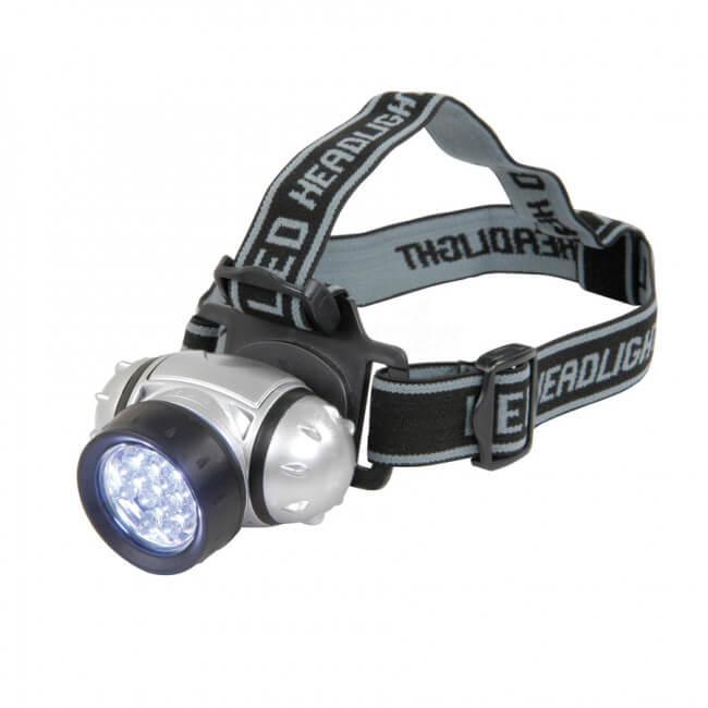 Čelová lampa 12 LED