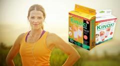 Detoxikačné náplaste KINOKI. Ideálna jarná očista pre vaše telo.