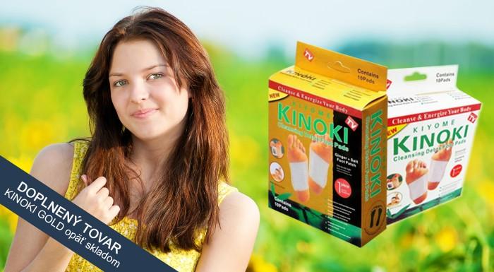 Fotka zľavy: Detoxikačné náplaste KINOKI