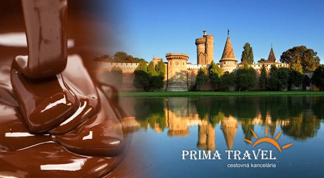 """1 dňový zájazd do Rakúska s návštevou vodného zámku cisárovnej ,,Sissi"""" v Laxenburgu, čokoládovne a plavba po najväčšom podzemnom jazere v Európe."""