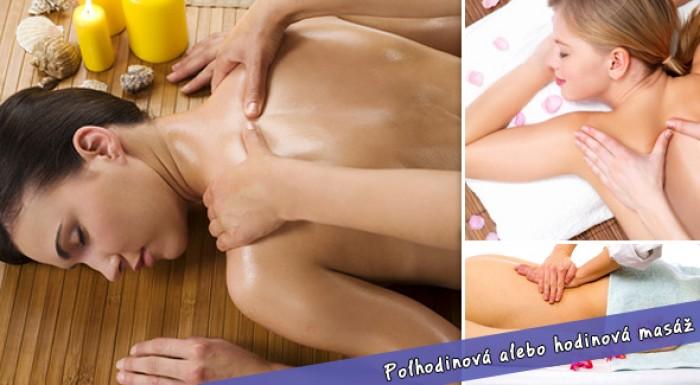 30 alebo 60 minútová masáž v PerfectBody
