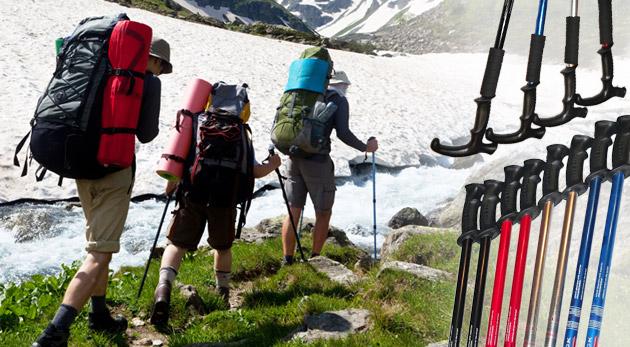 Turistická pomôcka - trekingové teleskopické palice za super cenu. Turistika bude od teraz hračka.