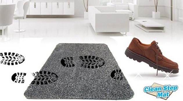 Vysoko absorpčná rohožka -  praktický doplnok, ktorý udrží vašu domácnosť vždy čistú.