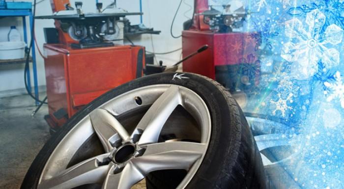 Kompletné zimné prezutie pneumatík s vyvážením kolies vrátane závaží.