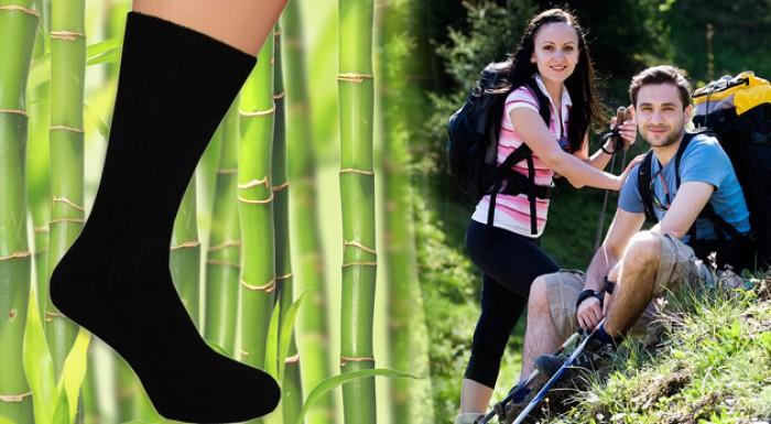 Ponožky z príjemného bambusového vlákna - 6 párov.