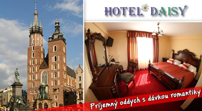 Fotka zľavy: 39,50€ za 3 dni v Krakowe - príjemný oddych s dávkou romantiky v historickom meste Krakow v hoteli Daisy Superior. Bazén, sauna, jacuzzi, fitness centrum a ešte oveľa viac...