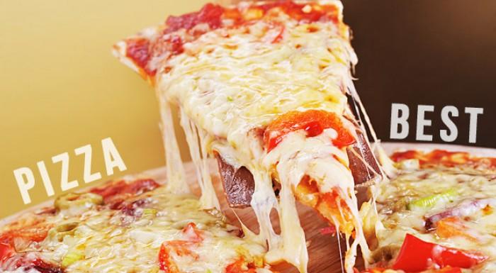Veľká chrumkavá pizza podľa vášho výberu až z 20 druhov v Pizza Best v Petržalke.