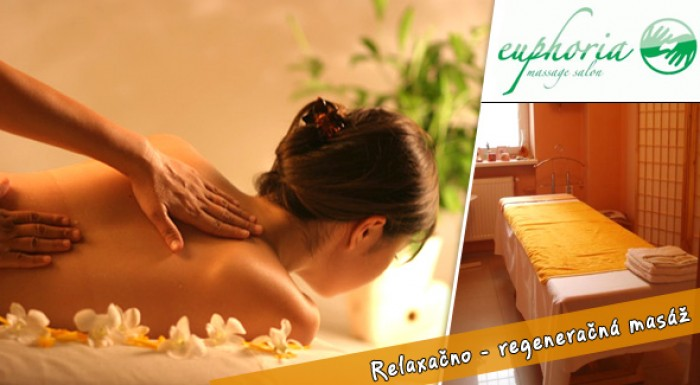 Relaxačno-regeneračná masáž tela s mätovo-rozmarínovým olejom a hydratačnou maskou s palmovým krémom a proteínom v trvaní 45 min a to všetko s jedinečnou zľavou 65% len za 7,70€!