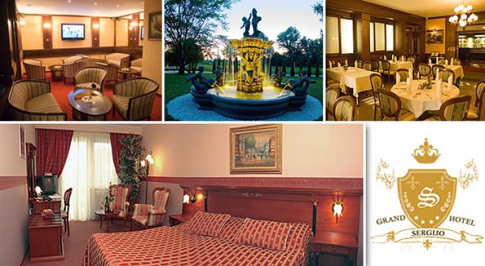 Luxusný relaxačný pobyt v 4-hviezdičkovom hoteli v Piešťanoch pre 2 osoby - GRAND HOTELU SERGIJO****