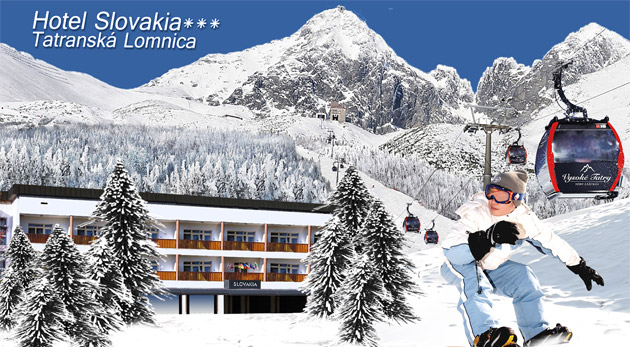 Jedinečný pobyt na 3 alebo 4 dni vo Vysokých Tatrách v srdci TOP lyžiarskeho strediska v Tatranskej Lomnici.