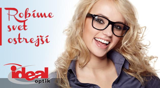 4356ff7f0 Kvalitné dioptrické sklá, vyšetrenie zraku a zľava na značkové rámy -  darček pre vaše oči