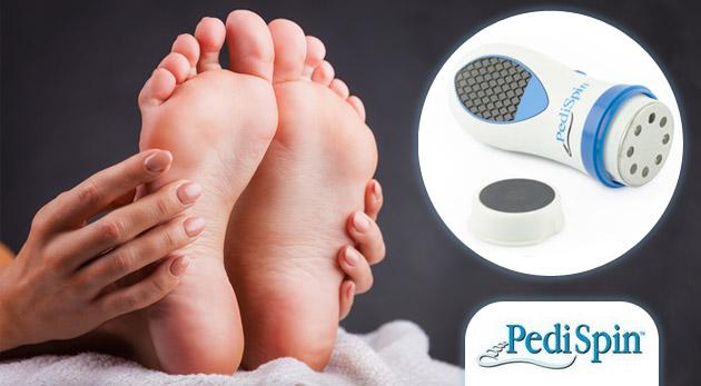 Jednoduchá a bezpečná pomôcka pre domácu pedikúru - hladké chodidlá bez námahy.